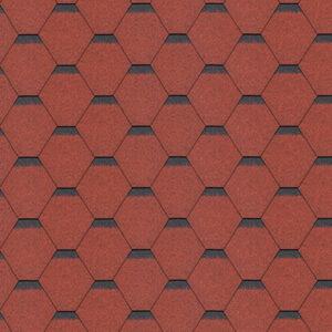 Hexagonal-red